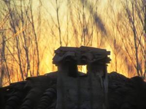 Mi mágico León: atardece en Azadón. León. Mi más sincero cariño a Julen, a sus padres, a su gente, y a todas esas almas de buen corazón que viven en vilo desde el primer momento. Mi corazón está en aquel pozo de Totalán. Te llevo conmigo, pequeñín.